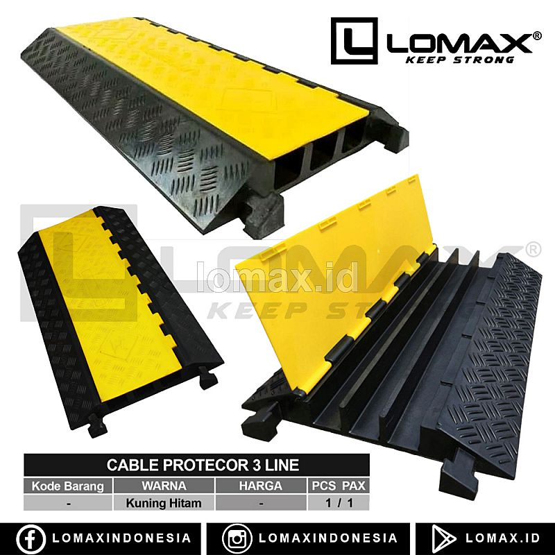 CABLE PROTECTOR 3 LINE